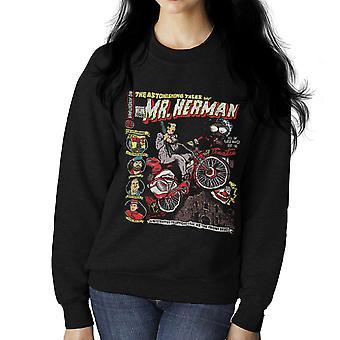 Zadziwiające przygody Mr Herman Pee Wee Herman Damska bluza