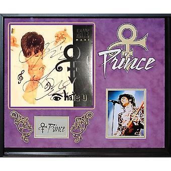Prince - Eye Hate You - Signed Album