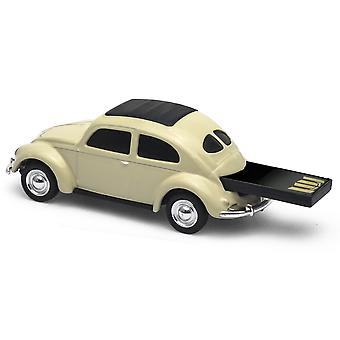 Officielle Classic VW Beetle USB Memory Stick 16Gb - creme