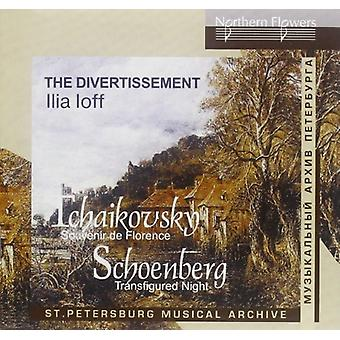 Divertissement / Ioff - Tjajkovskij: Souvenir De Flornce Schoenberg [CD] USA import