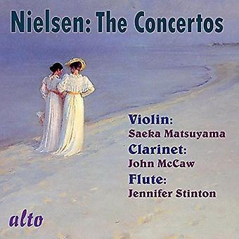 Jenniger Stinton Saeka Matsuyama John - Nielsen: Complete Concertos (Violin Cla [CD] USA import