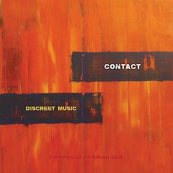 Eno / kontakt - diskret musik [CD] USA import