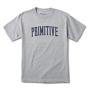 Primitive Apparel Collegiate Arch T-Shirt Grey