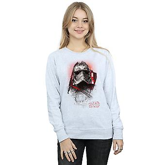 Star Wars vrouwen de laatste Jedi kapitein Phasma geborsteld Sweatshirt