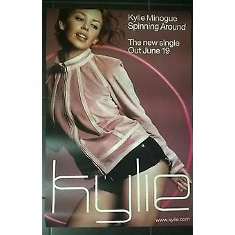 Kylie Minogue Spinning Around Poster