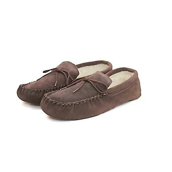 Eastern Counties Leather Unisex Wool-blend Soft Sole Moccasins