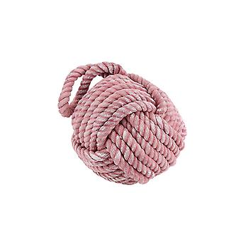 CGB Giftware Beside The Seaside Pink Rope Door Stop