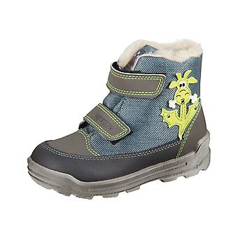 Zapatos de niños universal Ricosta Bixi Meteor Grau Utah Poco 3725000460