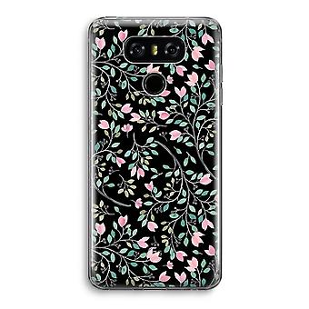 LG G6 Transparent Case - Dainty flowers