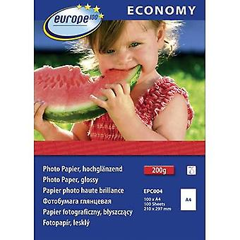 Photo paper Europe 100 Economy Photo Paper Glossy EPC004 A4