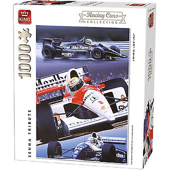 King puzzel 1000 st. Senna Tribute 5628