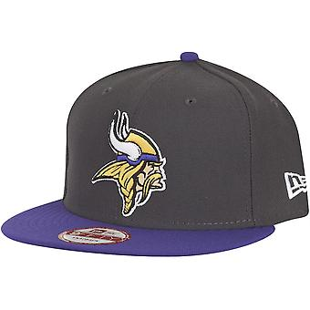 New era 9Fifty Snapback Cap - NFL Minnesota Vikings graphite