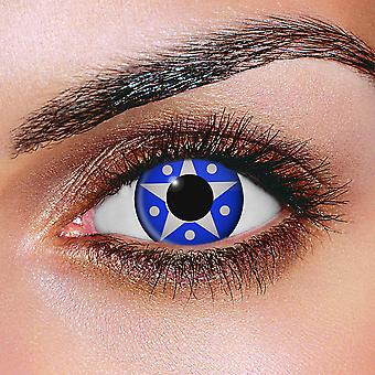 Silver Star Contact Lenses