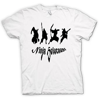Womens T-shirt - Ninja Holocaust - Funny