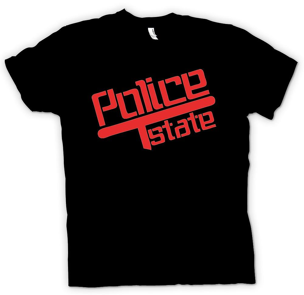 Heren T-shirt - politiestaat - Baton