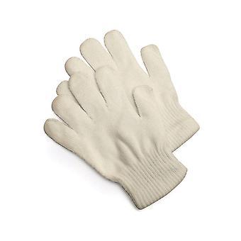 Handschoenen gebreide handschoenen beige