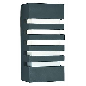 Outdoor & Porch Grilled Wall Bracket - Dark Grey