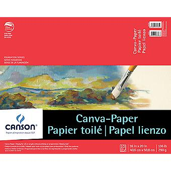 Canson Foundation Series Canva-Paper Pad 16