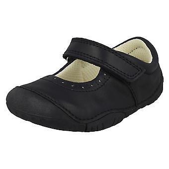 Girls Startrite Casual Shoes Cruise - Navy Nubuck - UK Size 2F - EU Size 17.5 - US Size 3