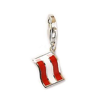 Esprit Anhänger Charms Silber Flagge Österreich ESZZ90470A000