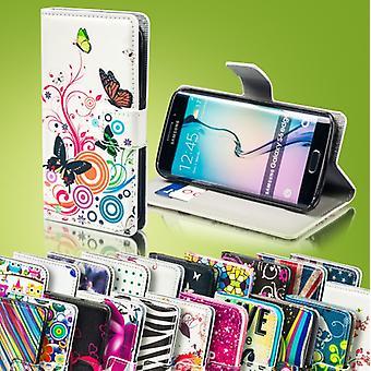 Bookcover lommebok mønster for Samsung Galaxy