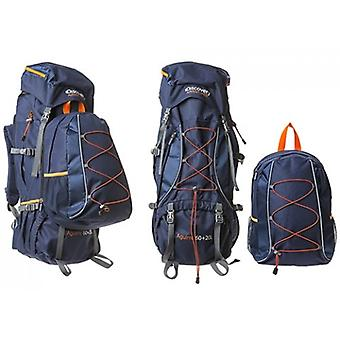 Summit Discovery Adventures 60L + 20L Rucksack With Hydration Bladder Holder