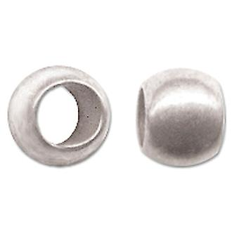 Crimp Beads Size 3 1.5g-Silver-Plated