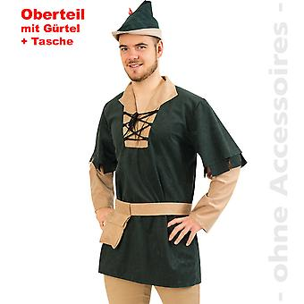 Robin Hood mens costume of outlaw vagabond mens costume