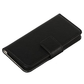 Booklet Cover iPhone 5/5S w/creditcard holder Black