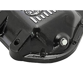 aFe Power 46-70162 Jeep Differential Cover (Black; Machined Fins)
