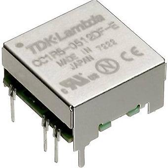 TDK-Lambda CC-1R5-0503SF-E DC/DC converter (print) 5 Vdc 3.3 Vdc 0.4 A 1.5 W No. of outputs: 1 x