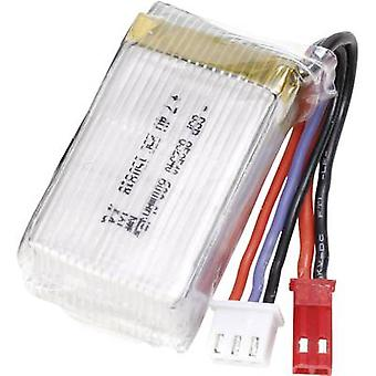 Conrad energy Scale model battery pack (LiPo) 7.4 V 600 mAh No. of cells: 2 25 C Stick BEC