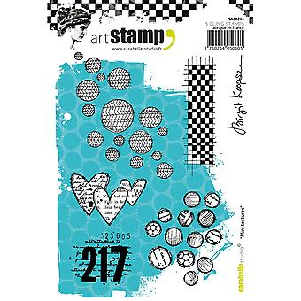Carabelle Studio Cling Stamp A6-Mini Textures