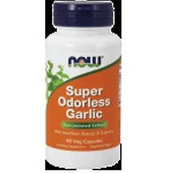 Now Foods Super Odorles Garlic 90 Capsules (Vitamins & supplements , Special supplements)