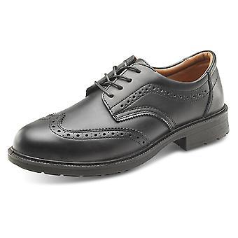 Kliknij menedżerów bezpieczeństwa brogsów buty czarny S1 Src - Sw2011