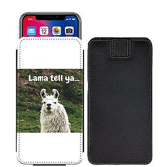 Lamas speziell bedruckte Pull Tab Tasche Telefon Gehäusedeckel für Motorola Moto G5 [S] - LL02P_web