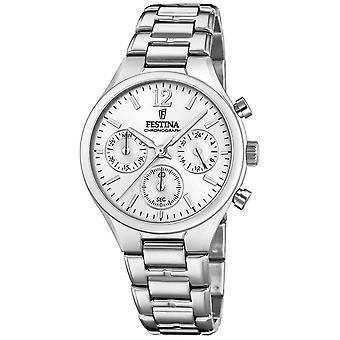 Festina Womens vriendje Chronograph Stainless Steel F20391/1 Watch