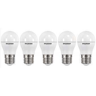 5 x Sylvania ToLEDo Ball Dimmable E27 V3 5.6W Homelight LED 470lm [Energy Class A+]