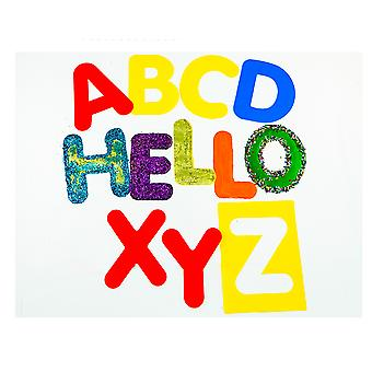 26 Washable Large Uppercase Alphabet Letter Stencils for Kids