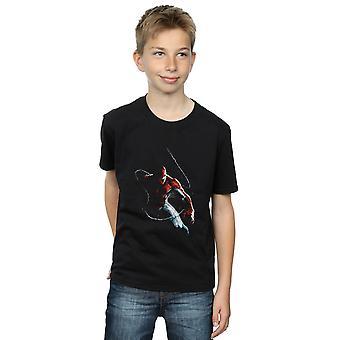 Marvel Boys Spider-Man Painting T-Shirt