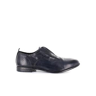 MOMA NAVY BLUE OXFORD SLIP ON