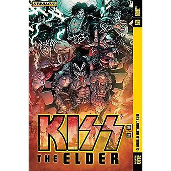 KIss - The Elder Vol 01 - World Without Sun by Amy Chu - Kewber Baal -