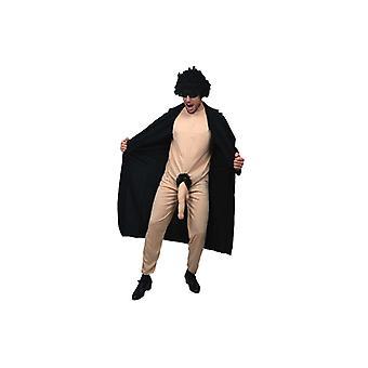 Exhibitionistenkostüm stripper flasher costume mens Gr. L