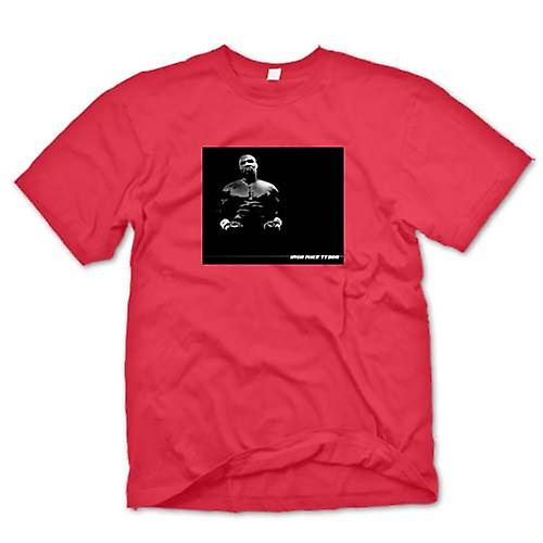 Mens T-shirt - Iron - Mike Tyson - Pop Art