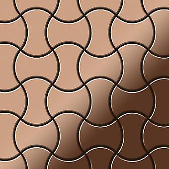 Metal mosaic Copper ALLOY Infinit-CM