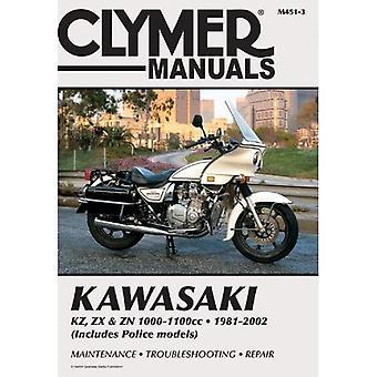 Kawasaki Kz, Zx, and Zn 1000-1100cc, 1981-2002