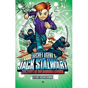 Secret Agent Jack Stalwart: Book 11: the Theft of the Samurai Sword: Japan :