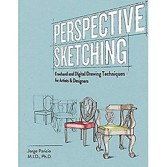 Perspective Sketching: Freehand and DigitalDrawingTechniques for Artists & Designers