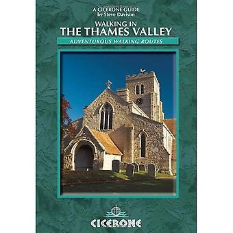 Marcher dans la vallée de la Tamise: les itinéraires de marche aventureux 25 (Cicerone Guide)