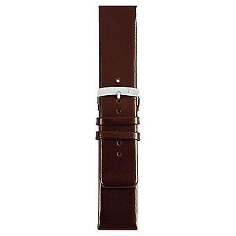 Morellato black leather strap unisex LARGE Brown 20 mm A01X3076875032CR30